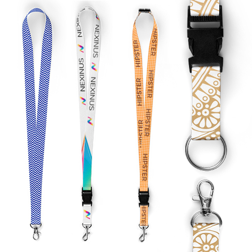 PORTA BADGE E LANYARDS